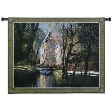 Chateau D'Annecy Tapestry Wall Hanging