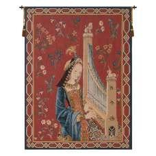 Dame A La Licorne I  French Tapestry