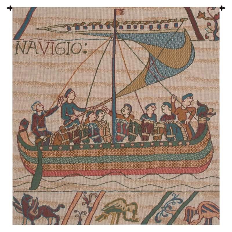 Duke William's Ship No Border French Tapestry