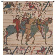 Duke William Departs No Border French Tapestry