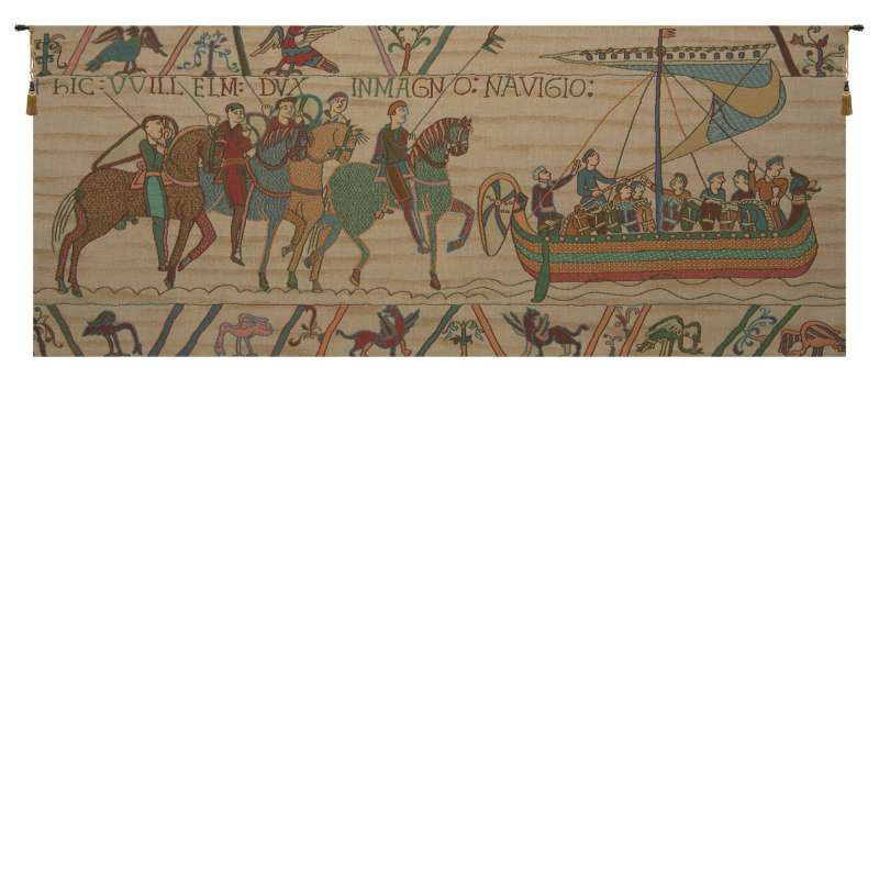 William Embarks Without Border French Tapestry