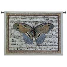 Butterfly Dance II Tapestry Wall Hanging