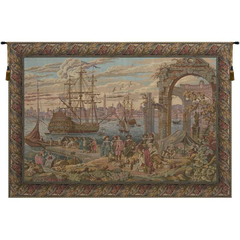 Mercanti I Italian Tapestry Wall Hanging