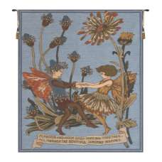 Plantain and Calendula Cicely Mark Barker  European Tapestry