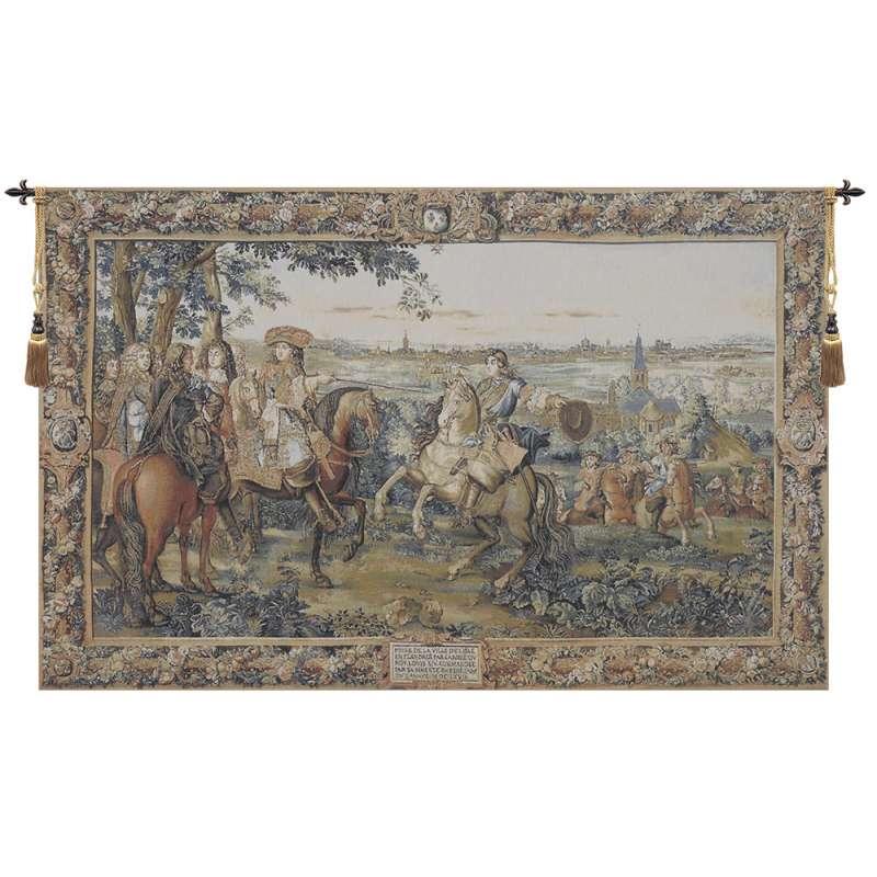 Louis XIV Belgian Tapestry Wall Hanging