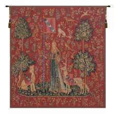 Le Toucher Fonce Belgian Tapestry Wall Hanging