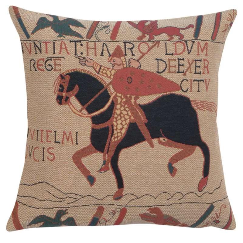 Bayeux Horse European Cushion Cover