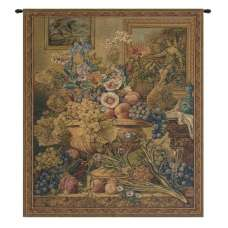 Bouquet Et Cadres Italian Tapestry Wall Hanging