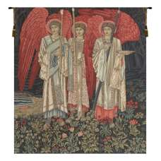 The Holy Grail I The Vision Middle Panel European Tapestry