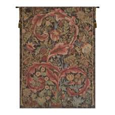 Acanthe Brown French Tapestry