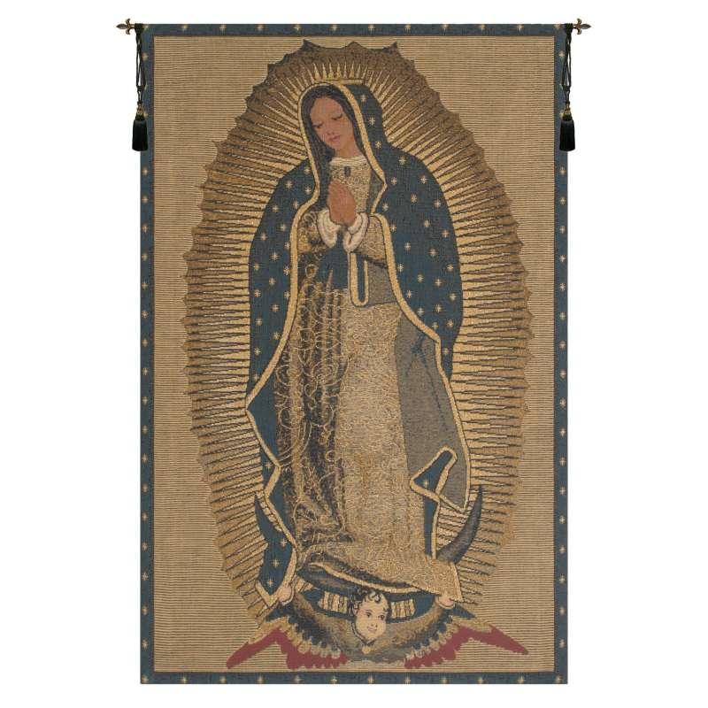 La Virgen De Guadelupe European Tapestry