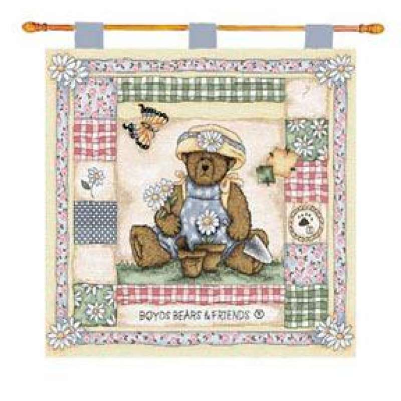 Daisy Field Fine Art Tapestry