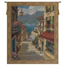 Bellagio Village Belgian Tapestry Wall Hanging