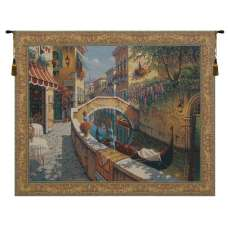 Passage to San Marco Belgian Tapestry Wall Hanging