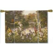 Summer Garden Tapestry Wall Hanging