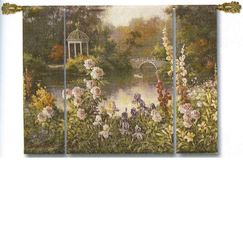 Summer Garden Wall Hanging Tapestry