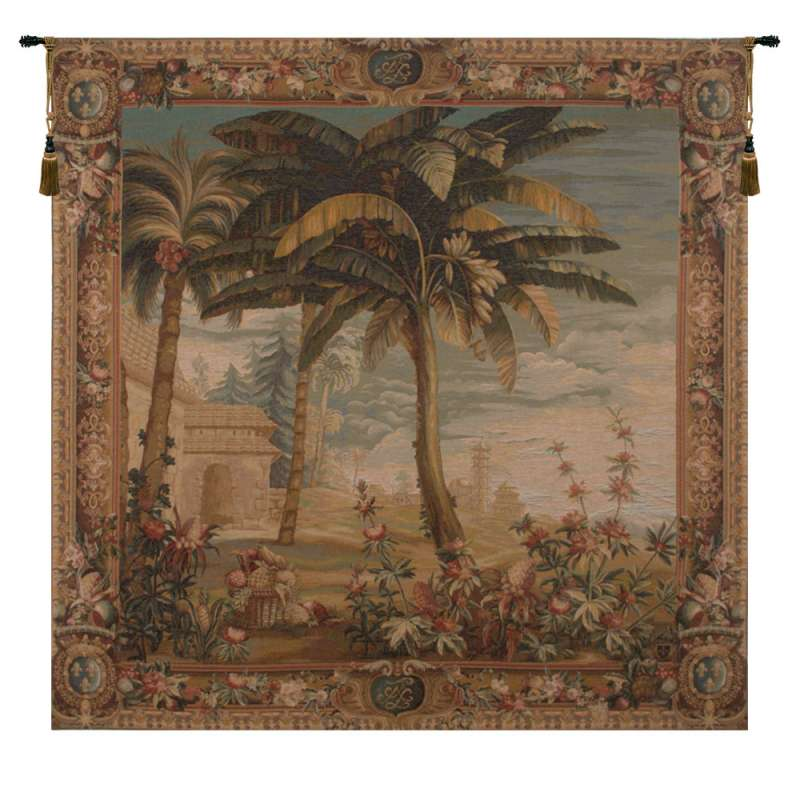 Paysage Exotique Landscape French Tapestry