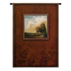 River Sunrise Tapestry Wall Hanging