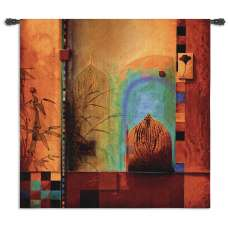 Garden Ensemble Tapestry Wall Hanging