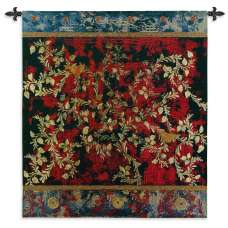 Love Birds Tapestry Wall Hanging