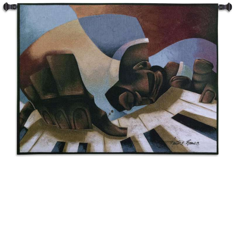 Frankie Fingertips Tapestry Wall Hanging