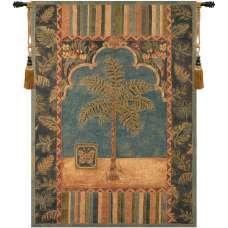 Brocade Palm Fine Art Tapestry