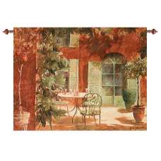 Rendezvous Provincial Fine Art Tapestry