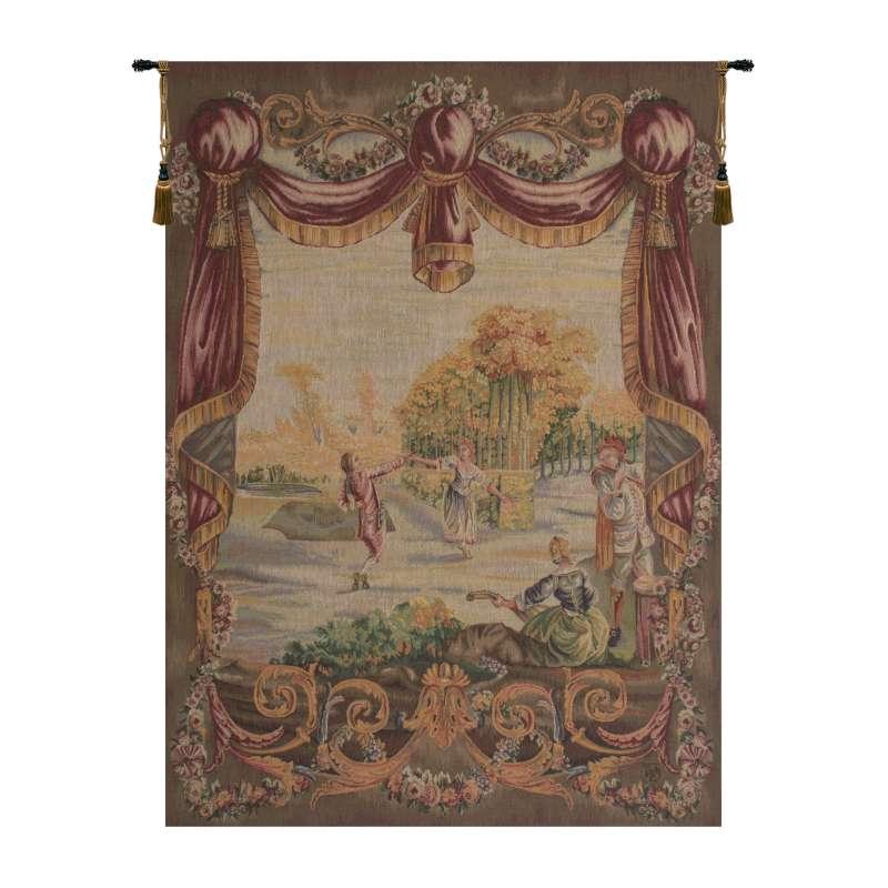 Danse Au Jardin Garden Dance French Tapestry