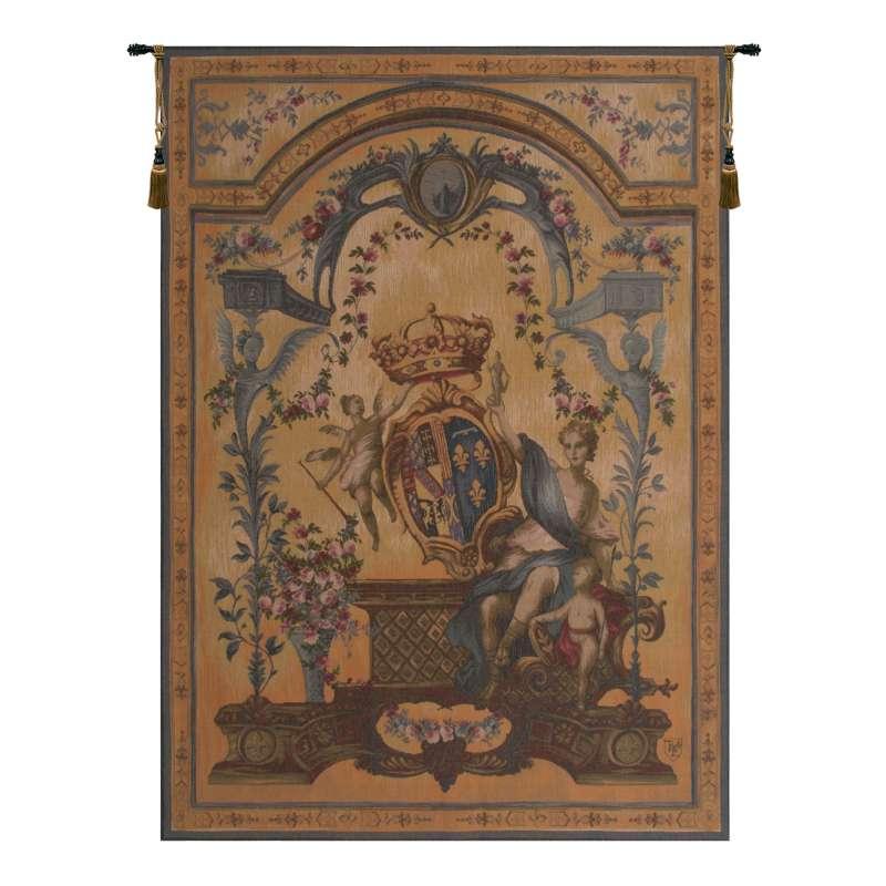 Dame Au Blason French Tapestry