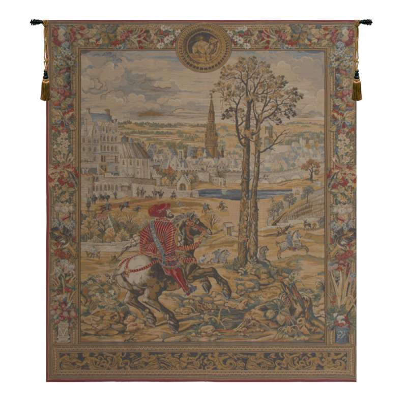 Maximilien European Tapestry Wall Hanging