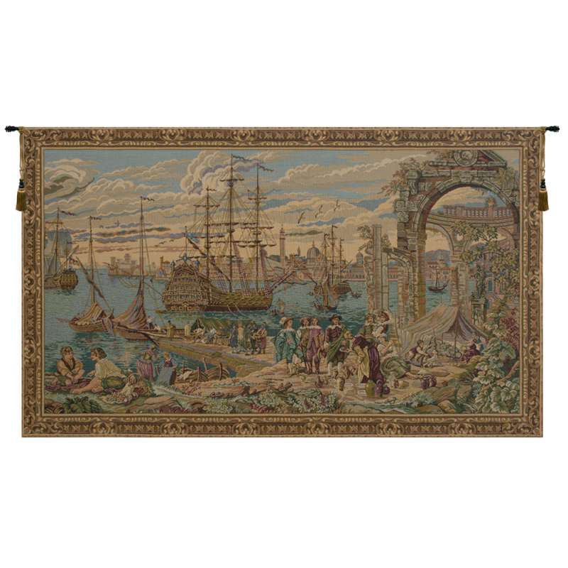The Harbour Italian Tapestry Wall Hanging