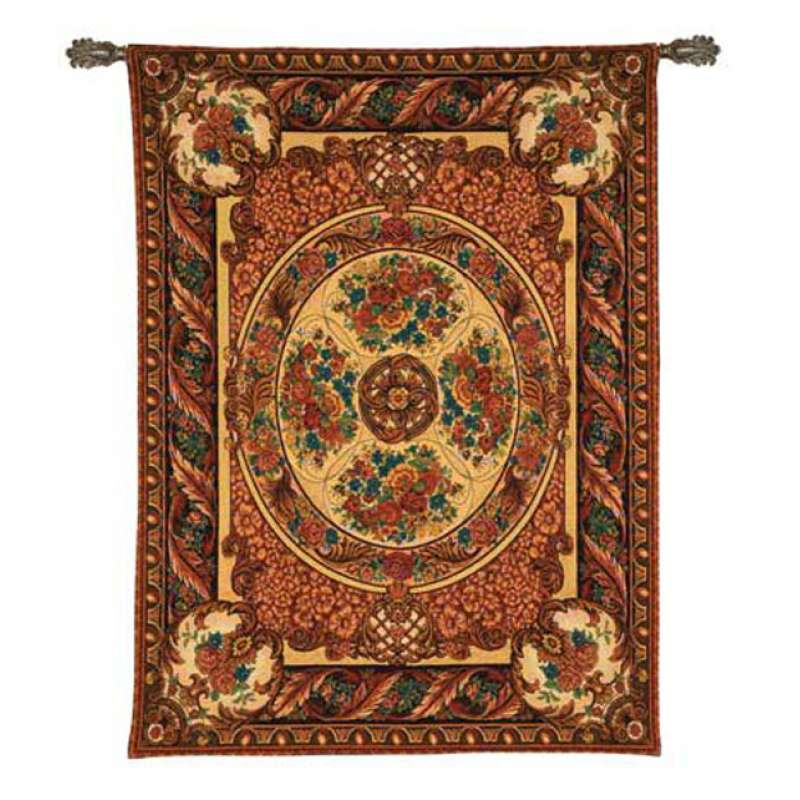 French Aubusson Tapestry Wall Hanging