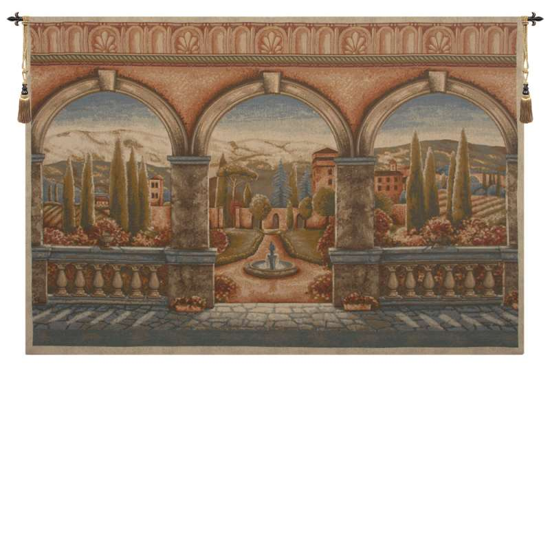 Tuscan Arches European Tapestry