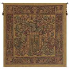 Crest and Fleur European Tapestry