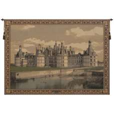 Chambord Castle II European Tapestry
