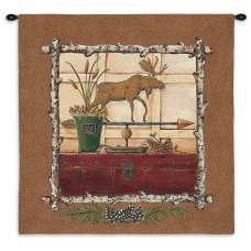 Northern Exposure I Tapestry Wall Hanging