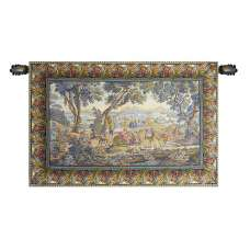 The Hunting Trip Italian Wall Hanging Tapestry
