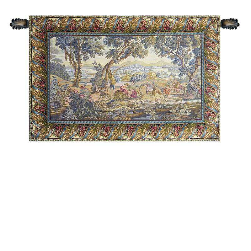The Hunting Trip Italian Tapestry