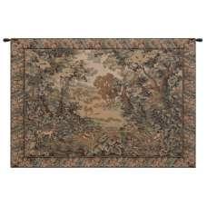 Verdure And Reindeer European Tapestry