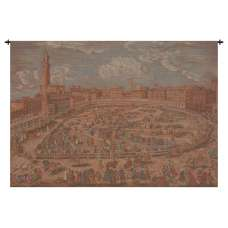 Siena Town Square Italian Tapestry Wall Hanging