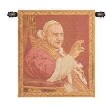 Pope Giovanni XXIII Italian Tapestry Wall Hanging