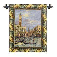 Piazza San Marco Italian Tapestry Wall Hanging