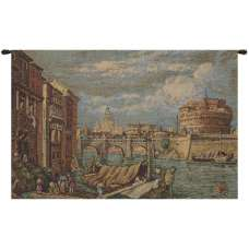 Rome Italian Tapestry Wall Hanging