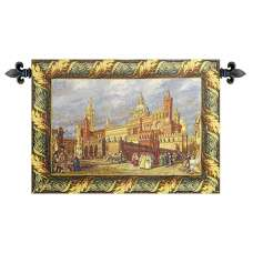 Palermo, The Cathedral Italian Tapestry Wall Hanging