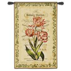 Botanical Garden I Tapestry Wall Hanging