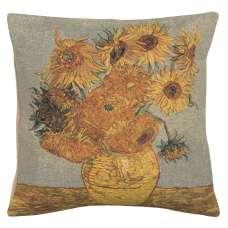 Van Gogh's Sunflower III European Cushion Covers