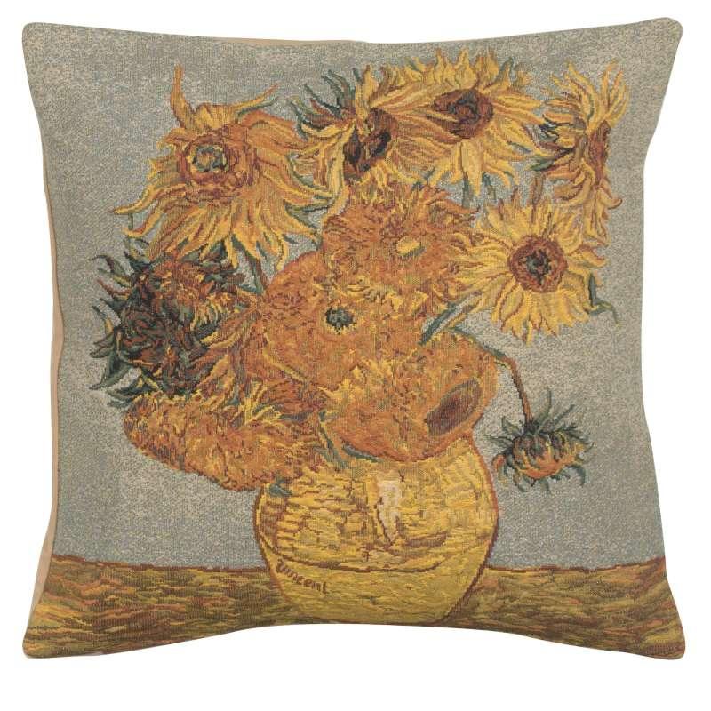 Van Gogh's Sunflower III European Cushion Cover