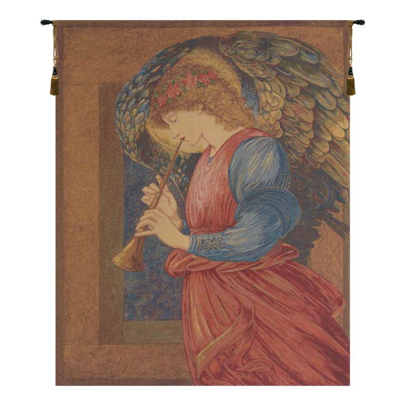 Flageolet Angel European Tapestry
