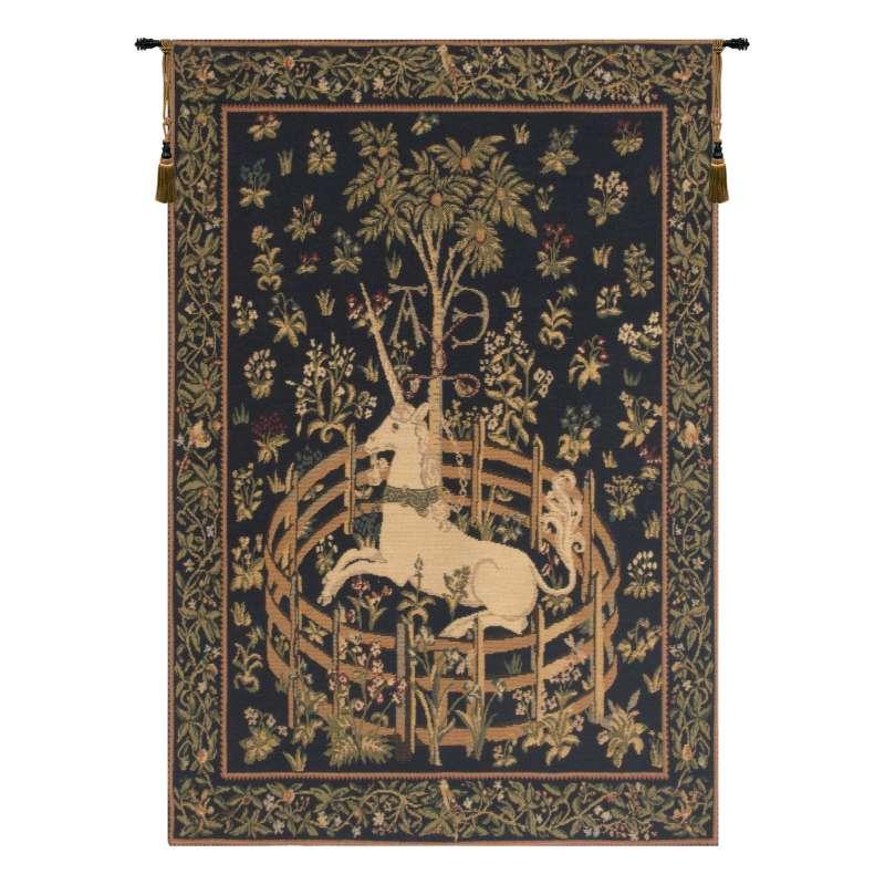 Unicorn in Captivity European Tapestry