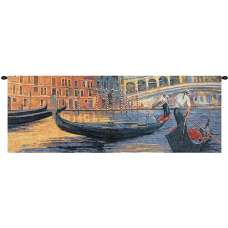 Gondola Ride II Fine Art Tapestry